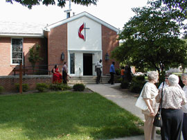 Christ UMC welcomes all strangers - we have open hearts, open minds, and open doors.